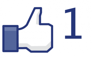 facebook like button thumbs up