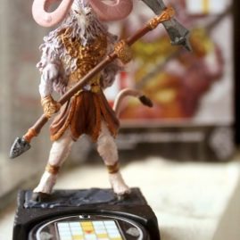 painted miniature figurine