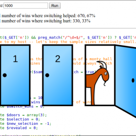 Monty Hall Simulator